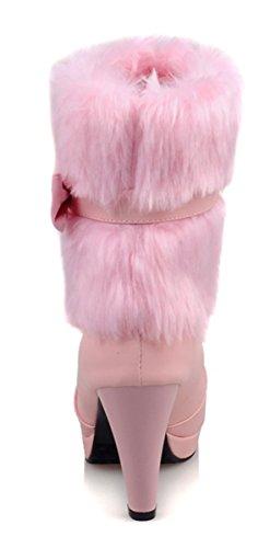botas Rosa botas botas YE Mujer YE Mujer clásicas clásicas Rosa Mujer YE clásicas qzdIE