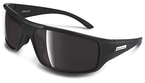 NEWPORT POLARIZED Sunglasses ANGLER Matte Black/Polarized Grey Lens