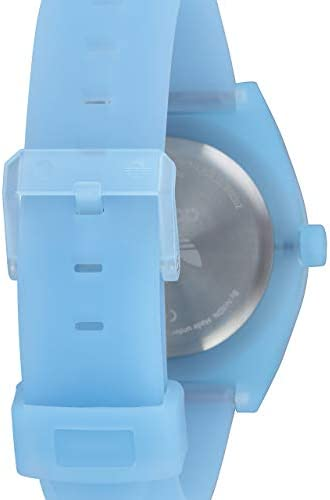 adidas Originals Watches Process_SP1. Silicone Strap 20mm Width (38 mm) -Clear Blue