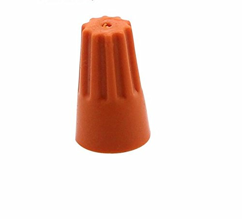 500X Assorted Electrical Wire Twist Connectors Terminals Cap Nut Rotating P4