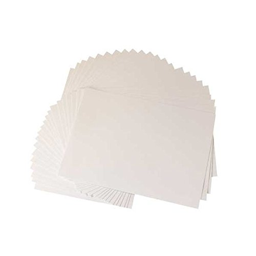 300gsm 50 Sheets (A4 Centura Pearl 50 Sheet Printable Cardstock Pack - Snow White Silver (300gsm))