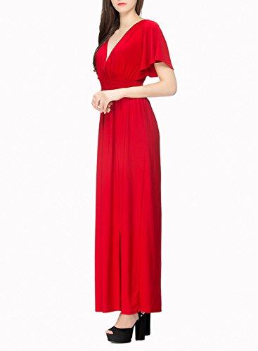 Futurino - Vestido - para mujer Rosso
