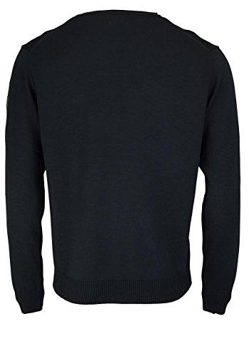 HAJO Pullover Smart Relaxx Langarm Rundhals schwarz