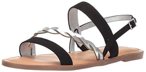 Carlos by Carlos Santana Women's Radley Flat Sandal, Black, 7.5 M - Black Carlos Sandals