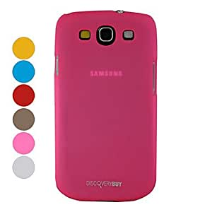 LIMME Elegant Fashion Hard Protective Case for Samsung Galaxy S3 I9300 (Assorted Colors) , Rose