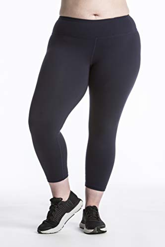 - Plus Size Capri Leggings Sale - Premium Quality Women's Compression Yoga Pants for The Curvy Girl - Made in USA