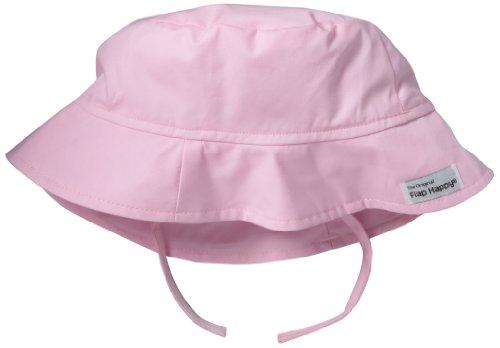 Flap Happy Little Girls'  Upf 50+ Chrusher Hat, Pastel Pink, X-Large