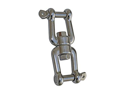 "Five Oceans Swivel Double Shackle 1/4"" FO-1372"