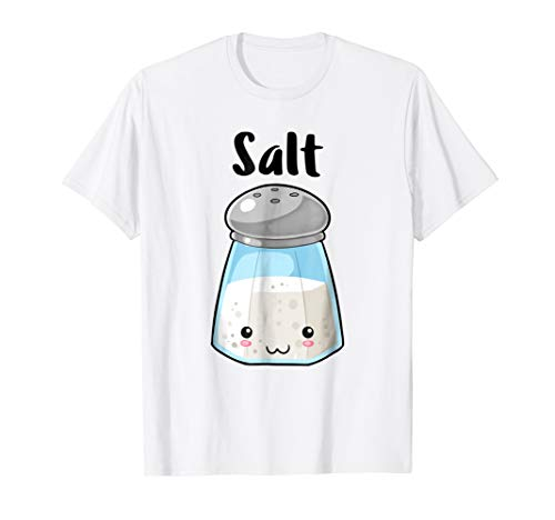Kawaii Salt Pepper Halloween Costume Best Friend Shirts]()