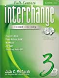 Interchange Full Contact 3B, Jack C. Richards and Jonathan Hull, 0521686725