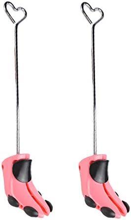 Milageto 2pcs 19 Pulgadas Herramienta de Ensanchador de /árbol de Zapatos Mujeres Hombres Bota Larga Expansor de Zapatos Talladora