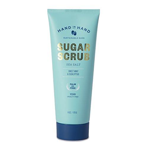 Sea Salt Natural Vegan Palm Oil Free Sugar Scrub -