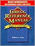 Gregg Reference Manual, Basic Worksheets : Grammar, Usage, and Style, Sabin, William A., 002804049X