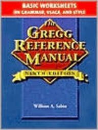 Gregg Reference Manual, Basic Worksheets: Grammar, Usage, and Style