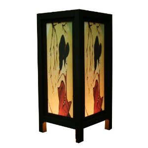 Thai vintage handmade asian oriental japanese geisha for Japanese bedside table