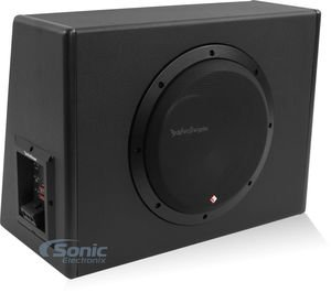 Boxes Audio Car Subwoofer (Rockford Fosgate P300-10 Punch Powered Loaded 10-Inch Subwoofer Enclosure)