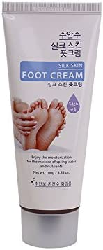 Korea Cosmetic Enesti Natural Hot Spring Water Made Suanbo Spa Suansu Silk Skin Foot Cream 3.5oz