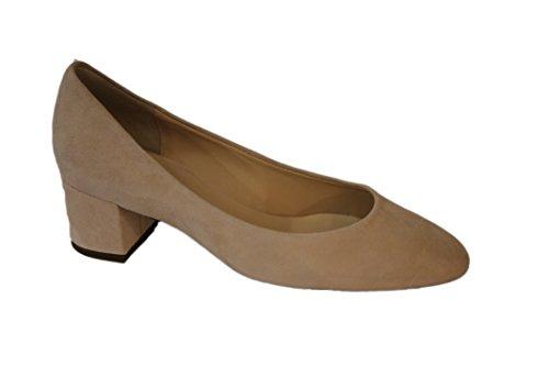 HÖGL Zapatos de vestir de ante para mujer Beige beige