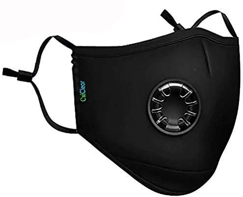 OxiClear Pollution Mask N99 with 4 Activated Carbon Filters