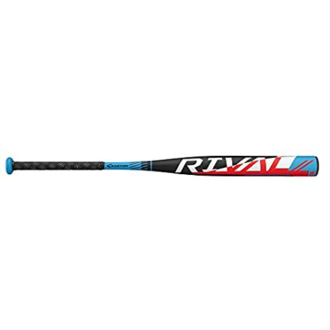 EASTON Rival Slowpitch Softball Bat | 2019 | 1 Piece Aluminum | Power  Loaded | ALX50 Alloy | 12 inch Barrel | Certification 1 20 BPF | ASA / ISF  /