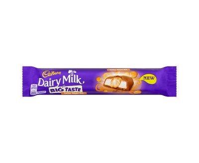 Cadbury Dairy Milk Big Taste Toffee Whole Nut Chocolate Bar (43g x 24)