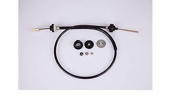 HELLA PAGID 8AK 355 701-091 Cable de accionamiento, accionamiento del embrague, Longitud 1 [mm]: 1275, Longitud 2 [mm]: 1045: Amazon.es: Coche y moto