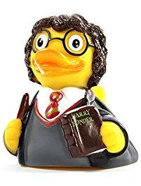 Harry Potter Costumes For Baby (CelebriDucks Harry Ponder Young Wizard RUBBER DUCK Bath Toy)