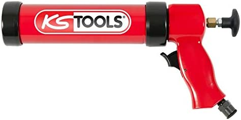 KS Tools 515.3915–Pistola neumática de silicona, 310ml, con pistón