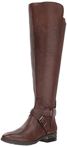 Vince Camuto Women's paton Fashion Boot, Sherwood Bark Wide Calf, 9 Medium US