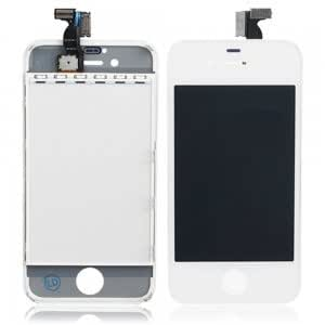 LCD Touch Screen Digitizer Replacement Assembly for iPhone 4S White