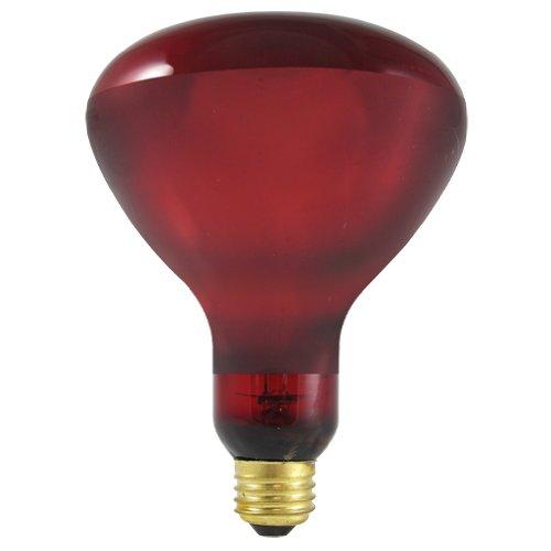 Bulbrite 250W 130V BR-40 Red Heat Lamp Reflector E26 Base