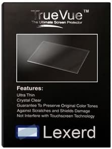 Compatible with Sony DCR-SR600 TrueVue Crystal Clear Digital Camcorder Screen Protector Lexerd