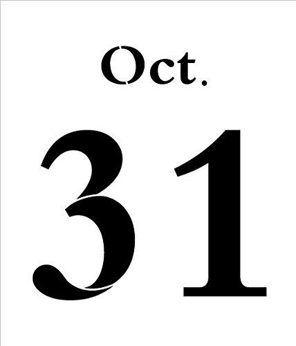 Oct. 31 Halloween Stencil - 7