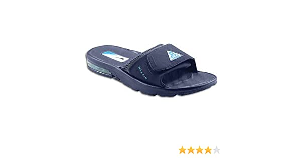 best website 21565 cb2b1 ... Amazon.com Nike Mens Air Moray 2 ACG Slide 363131-440 Midnight  NavyChlorine Blue ...