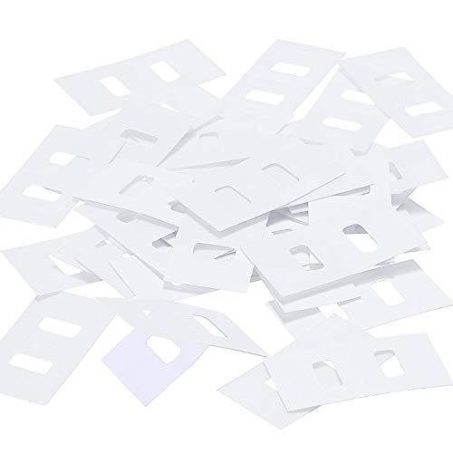 TOODOO Vertical Blind Repair Tabs Vertical Blind Vane Saver, Clear (40 Pieces) (2 Blinds Vertical)