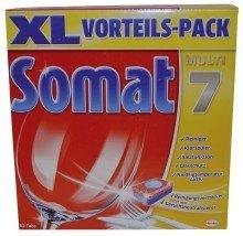 Somat 7 Tabs Geschirrspültabs 58 Stück Somat 3073162004