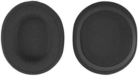 Jerilla SteelSeries Arctis Pro ワイヤレスゲーミングヘッドセット 用の交換用 イヤーマフ そして ヘッドバンドパッド、弾性 スポンジフォームイヤーマフ カバー ヘッドバンドクッションキット