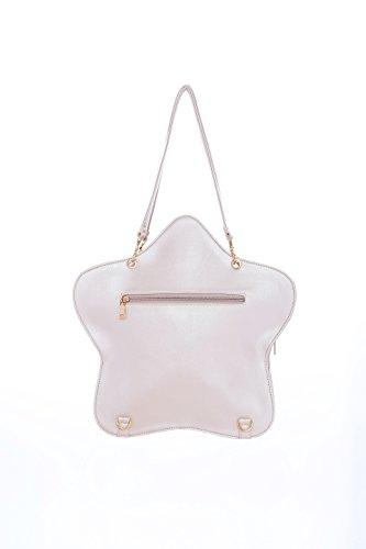 Leather White Purse Ita Backpacks Clear Pearl Lolita Kawaii Transparent Star Candy Bags Crossbody Handbag Bag R6Pqw5I