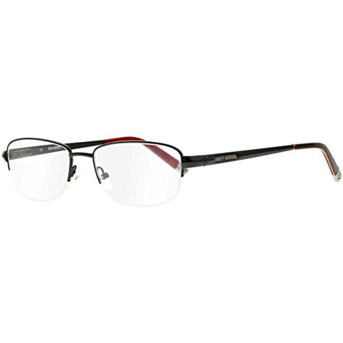 31e8642fc89 Harley Davidson Montures de lunettes Homme Noir Noir Small ...