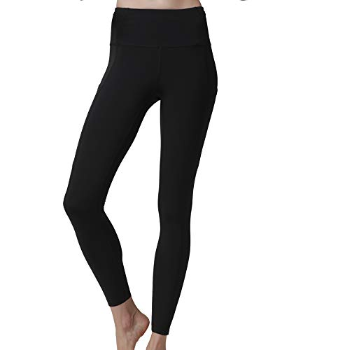 54a58a29e374d Olacia Womens High Waisted Workout Leggings Running Pants Black Soft Yoga  Pants S-XXL