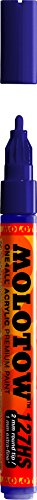 (Molotow ONE4ALL Acrylic Paint Marker, 2mm, Violet Dark, 1 Each (127.220))