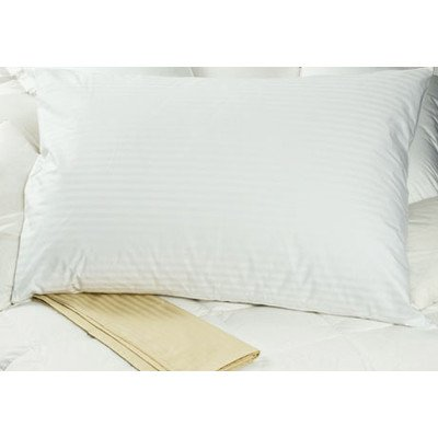 Set of TWO Oversized Pillow Case - Cover - 100% Egyptian Cotton, 340 Thread Count Sateen, ( Size 31 x 40), White Color