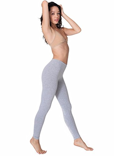 En Coton American Extensible Heather Grey Jersey Legging Apparel wE71q4t