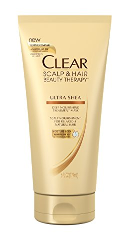 Clear Deep Conditioning Mask Treatment, Ultra Shea 6 oz (Clear Scalp And Hair Therapy Ultra Shea)