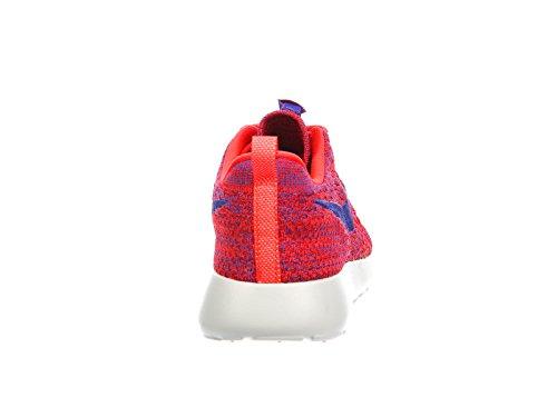 Nike Womens Roshe One Flyknit Hardloopschoenen Bright Crimson Violet