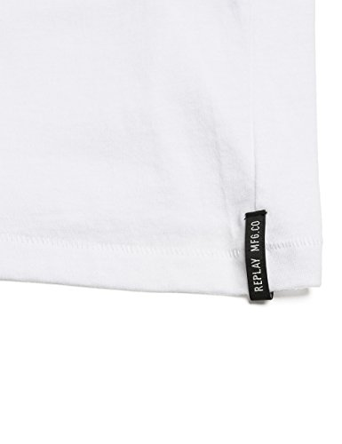 REPLAY W3755 .000.20994 - Camiseta Mujer Blanco
