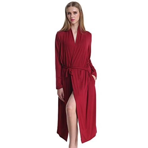 Chemise Long Longue Chambre Femmes Robe Peignoir Nuit Yilianda De wqRaOx4Ca7