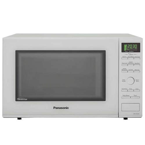 Panasonic NN-SD664W Countertop Microwave with Inverter Technology, 1.2 Cu. Ft, 1200W White (NOT-STAINLESS) (Renewed)