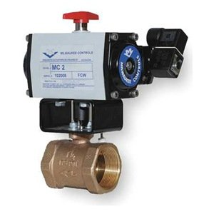 Milwaukee Valve - MBDAO - 2 - Butterfly Valve, Dbl Acting, Bronze, 2 In. from Milwaukee Valve