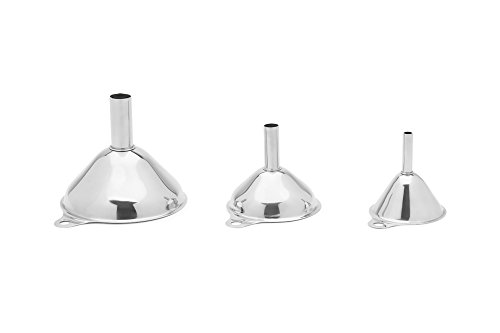 Fox Run 11641 (Set of 3) Funnel, Steel